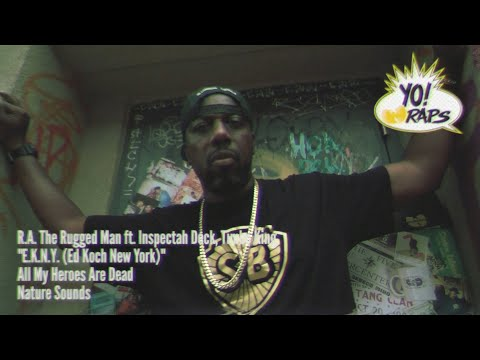 R.A. The Rugged Man – E.K.N.Y. (feat. Inspectah Deck + Timbo King) (B.K.N.Y. Mix) (Official Video)