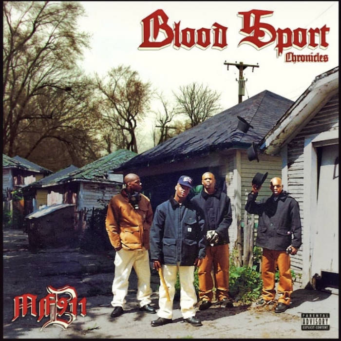 Bloodsport Chronicles by MF911 (Unreleased MF911 1990-1997 produced by J Dilla, Antlive, Ced Gee ...