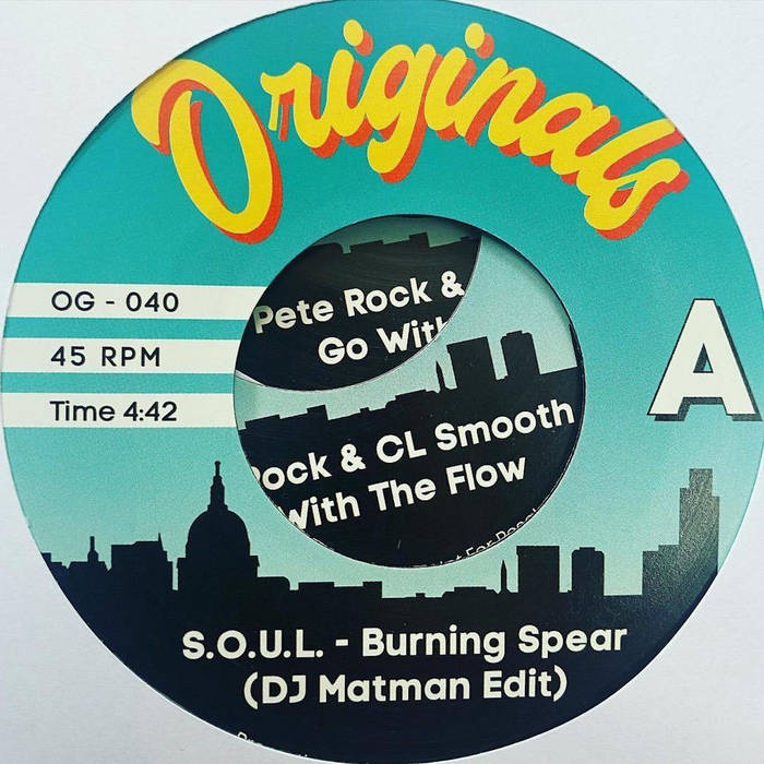 S.O.U.L. – Burning Spear (Matman's Go With The Flow Edit)