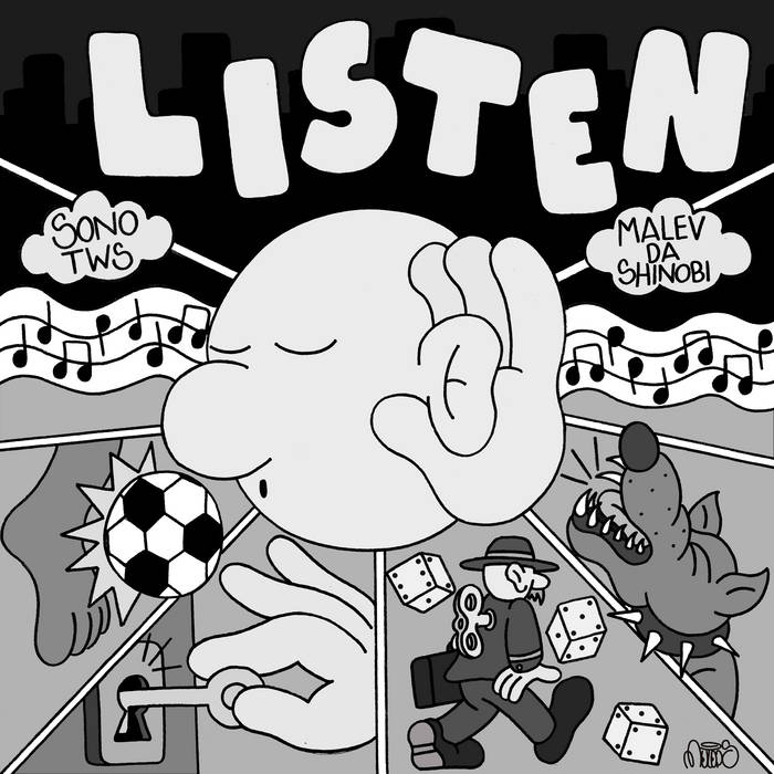 Listen (Feat. Malev da Shinobi) by TIREDOFPEOPLE®