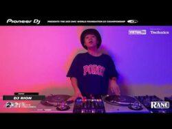 DJRION (Japon) 2021 DMC World FOUNDATION DJ Championship Runner Up