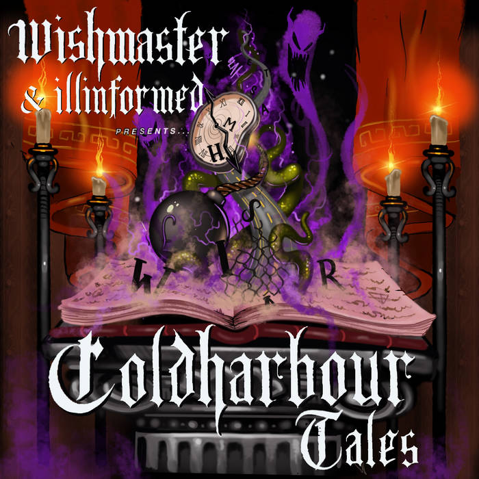 WISH MASTER X ILLINFORMED COLD HARBOUR TALES LP