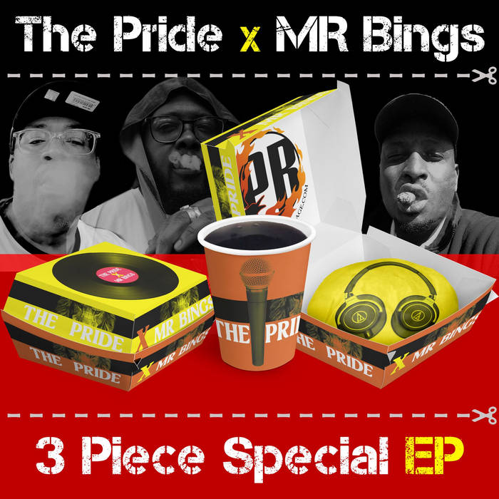 The PRIDE x MR BINGS - 3 Piece Special EP