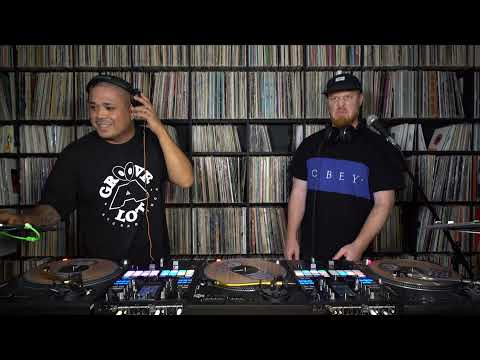 Skratch Bastid & Hedspin – 3 turntables, 2 mixers – FlipNJay Fest 2021