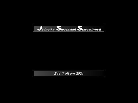 JSS – Zas ti píšem feat. Veronika Strapková