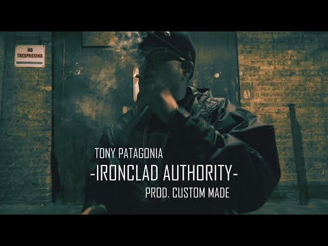 """Tony Patagonia x Custom Made – """"Ironclad Authority""""  Using the visual decay of an alley way in downtown Chicago, catch Tony P. in the official video for the track """"Ironclad Authority"""" from the new album """"Iconoclast& ..."""