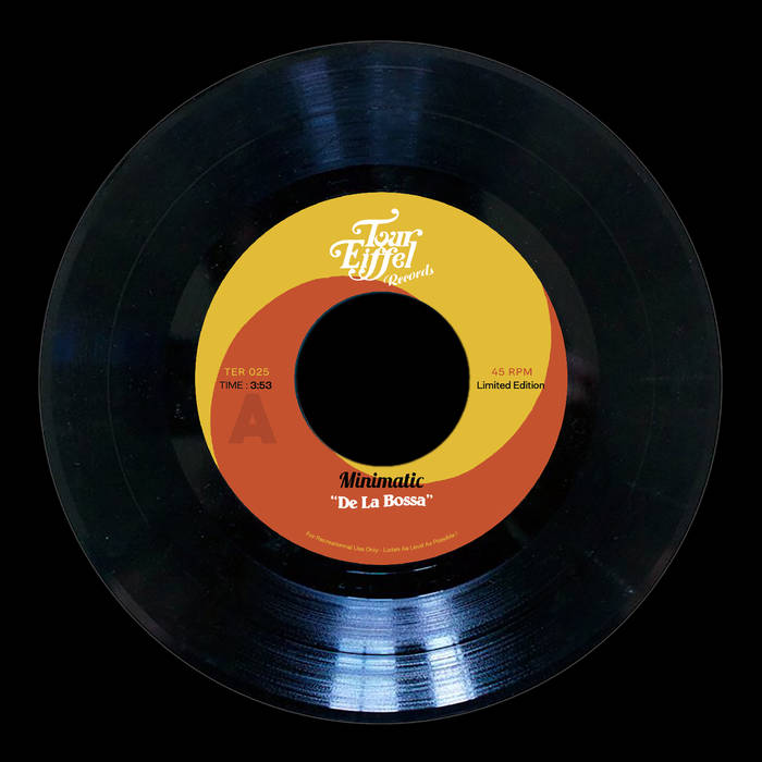 Drop De La Bossa by Minimatic  Pre-order now : new Tour Eiffel Records release, TER025 Finally o ...