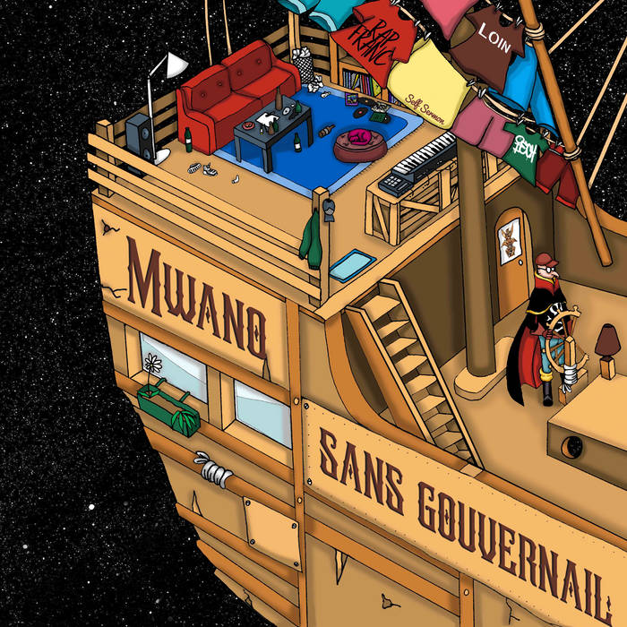 """Sans Gouvernail by Mwano  """"Sans gouvernail"""" est un voyage intime et politique sur le ..."""